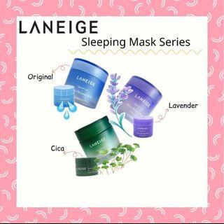 Laneige Sleeping Mask Trial & Big Size