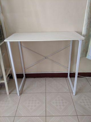 北歐日系簡約書桌/邊桌(白)
