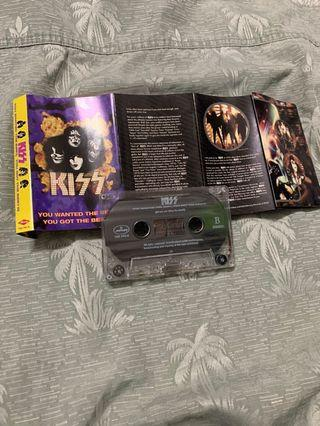 KISS You wanted the  best you got the best Cassette