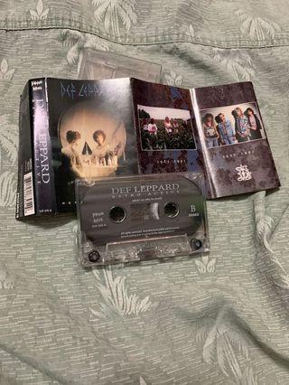 Def Leppard Retroactive Cassette