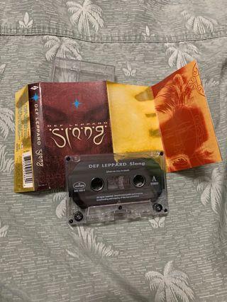 Def Leppard Slang Cassette