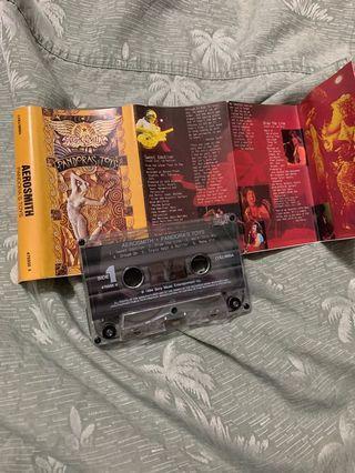 Aerosmith Pandora's Box Cassette
