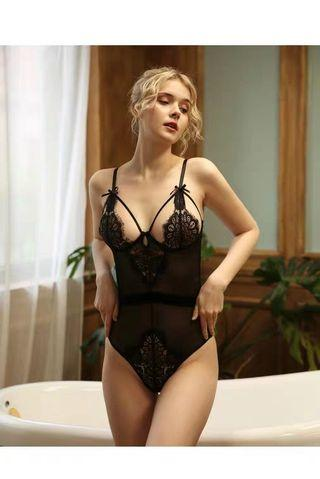 *FREE POSTAGE* READY STOCK Sexy one piece lingerie #striptease #sexylingerie