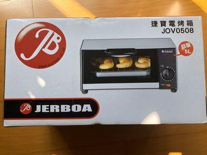 捷寶電烤箱 5L