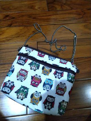 貓頭鷹防水小包包