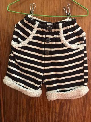 女幼童內刷毛保暖褲子