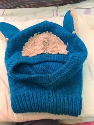 幼童帽子圍巾
