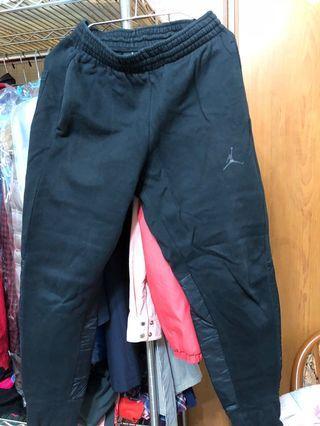Jordan 棉褲+愛迪達鞋