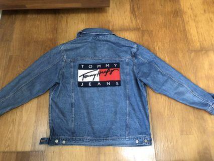 Tommy復古牛仔外套