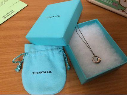Tiffany專櫃正品太極項鍊