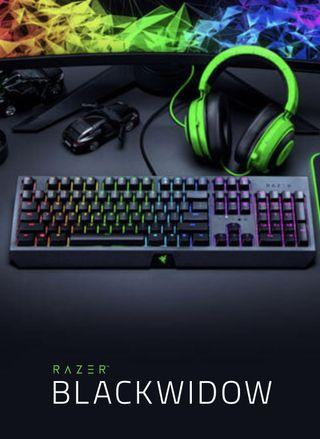 Razer BlackWidow 黑寡婦蜘蛛 🕷️ 機械式RGB鍵盤[全新品][超低價]