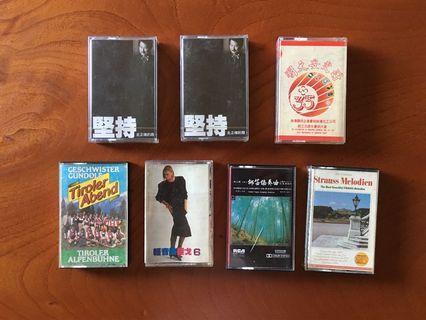 音樂卡帶7盒