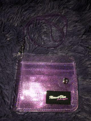 Almost Blue Jelly Wallet (Purple)