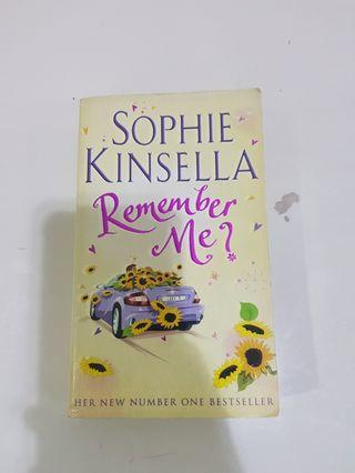 #Clearance Remember me by Sophie Kinsella