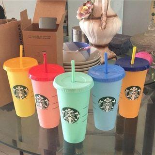 Tumbler Starbucks Changing  Color #MAUOVO