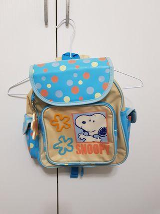 正版史努比Snoopy兒童背包