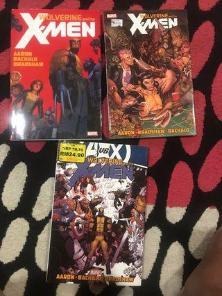 Wolverine and the x men hardcover tpb