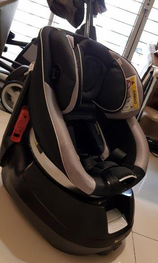 Combi cradling 360 reclinable and swivel Car Seat