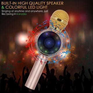 Microphone Bluetooth Speaker