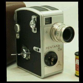 Pentaka 8B 8mm 德國 1958 發條機械攝影機