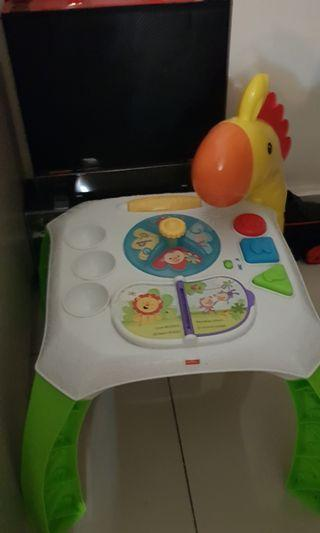 Fisher Price Activity table with lights n music