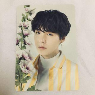 [WTS] BTS LOVE YOURSELF TOUR YOONGI PHOTOCARD