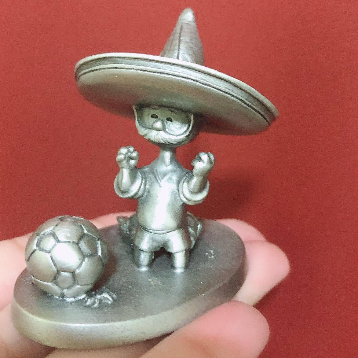 1986 FIFA WORLD CUP OFFICIAL MASCOT PIQUE FROM MEXICO GAMES