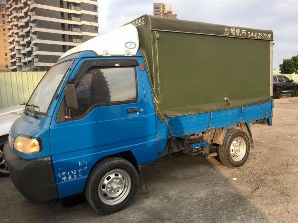 1999年/12月 威力貨車1.2 實車實價 售$58000 工作賺錢的好幫手 車子在五股