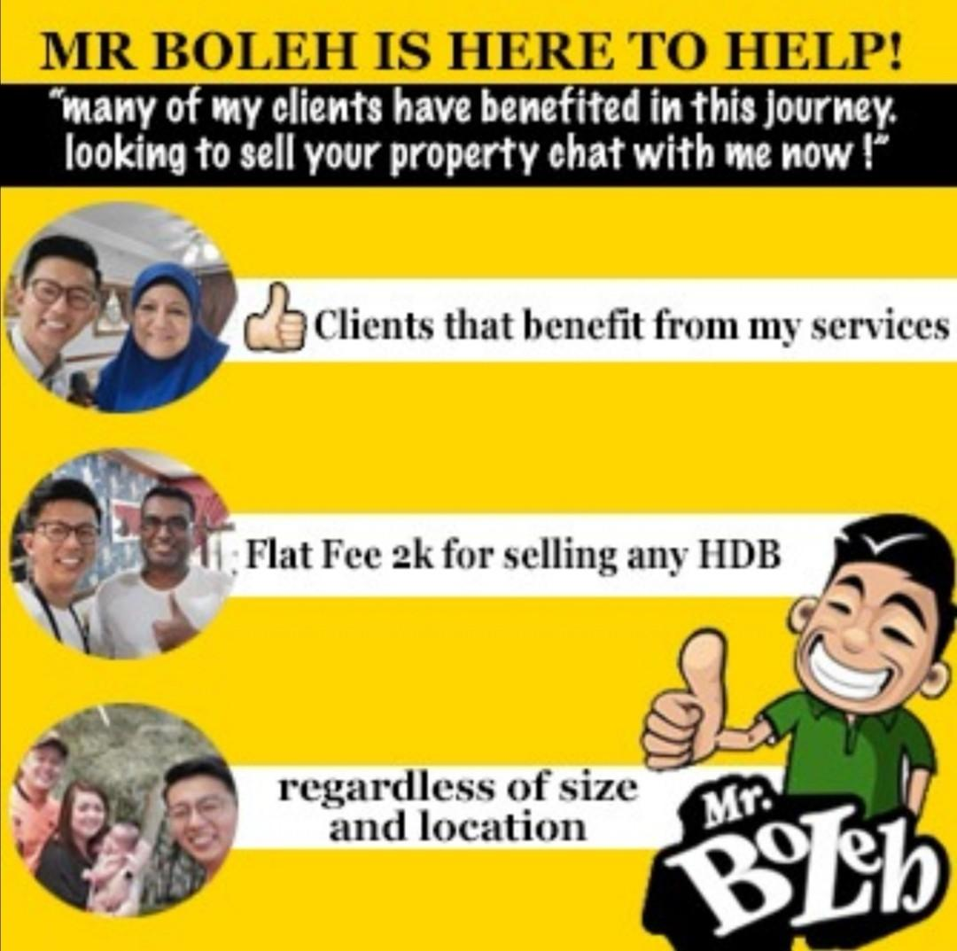 $2000 flat fee any hdb!