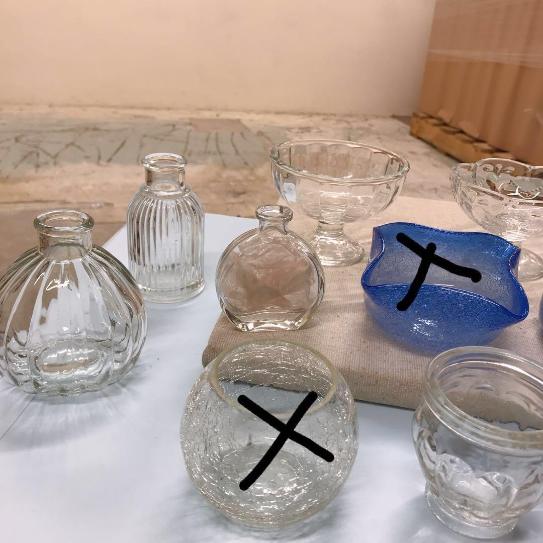 $20/3件Glasses多款玻璃瓶花樽小杯