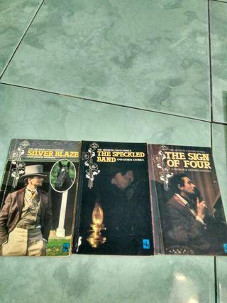 Novel English Sir Arthur Conan Doyle Sherlock Holmes