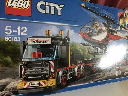 Lego 60183 special transport