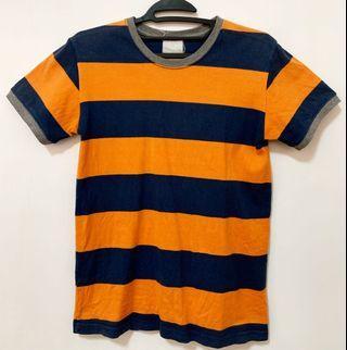 橘藍相間T恤