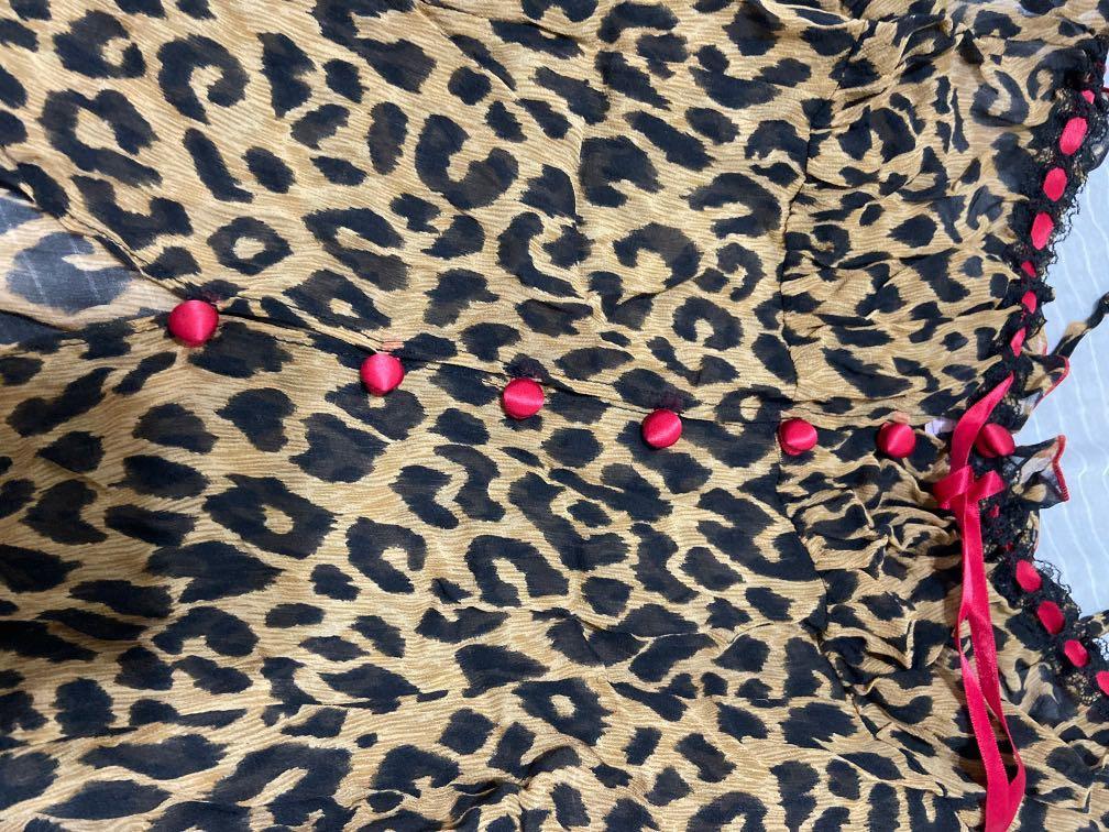 維多利亞性感豹紋睡衣