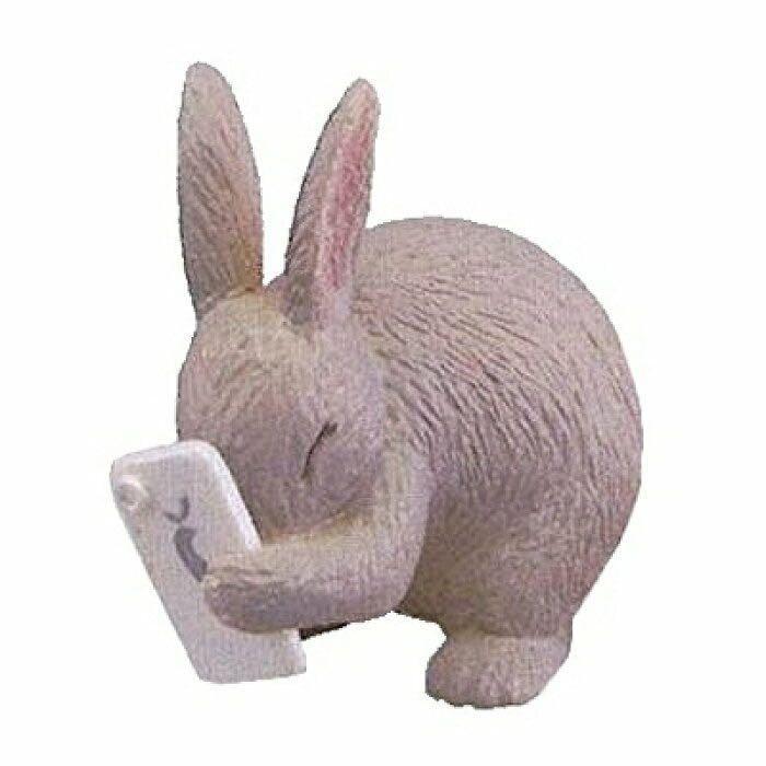 写メアニ。 TAKARA TOMY A.R.T.S 兔仔看手機扭蛋
