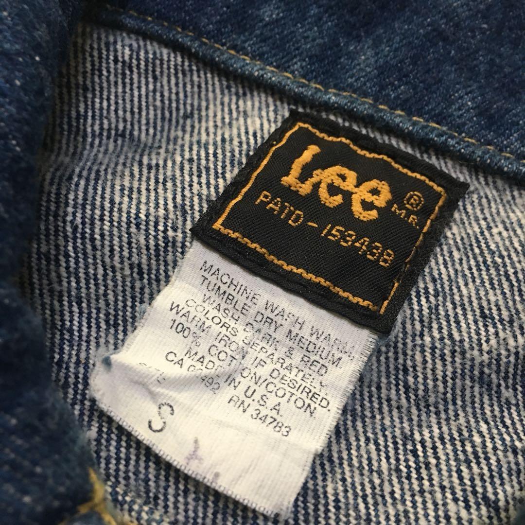 古著 Vintage 90's Lee 牛仔外套 美國製