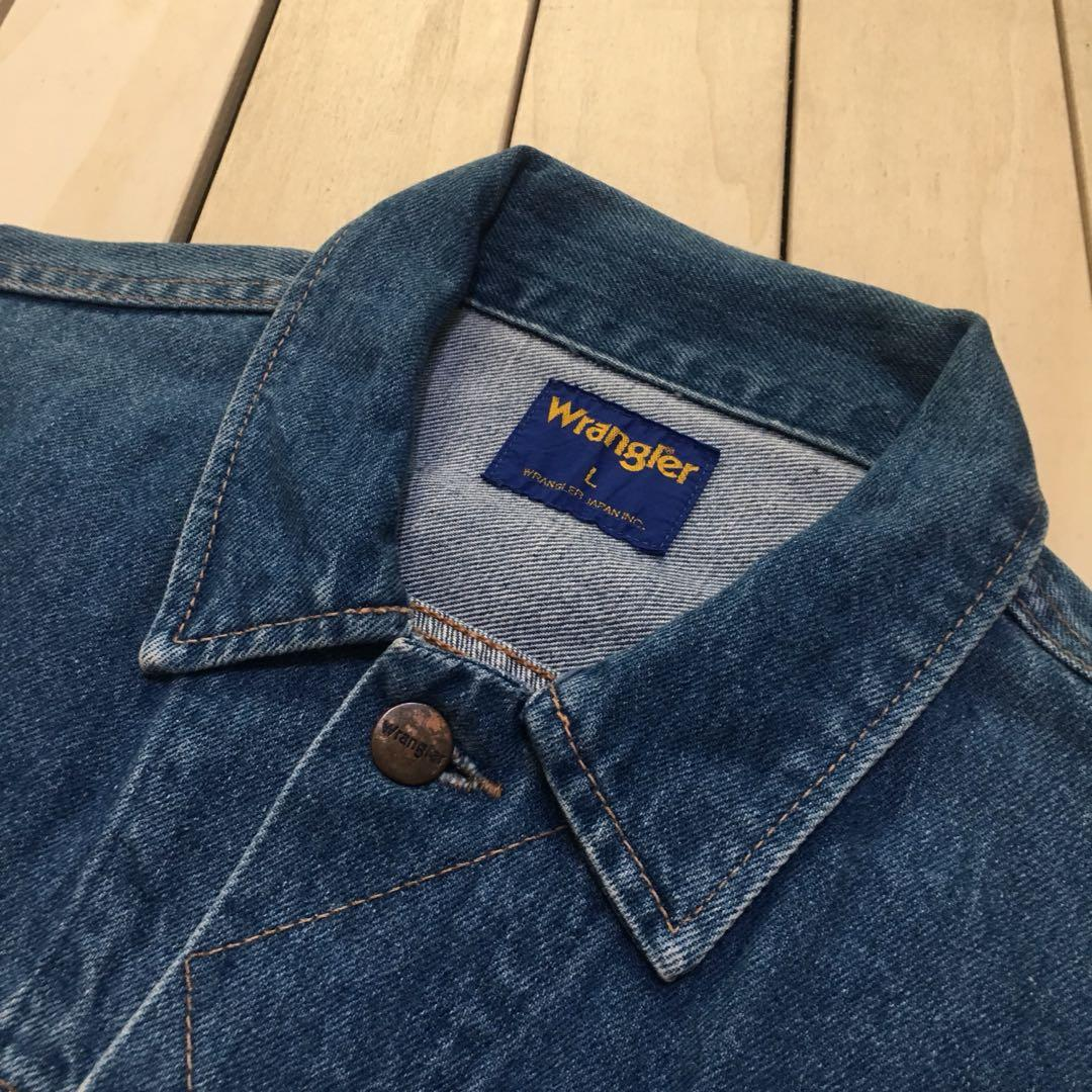 古著 Vintage 90's Wrangler 牛仔外套 日本製