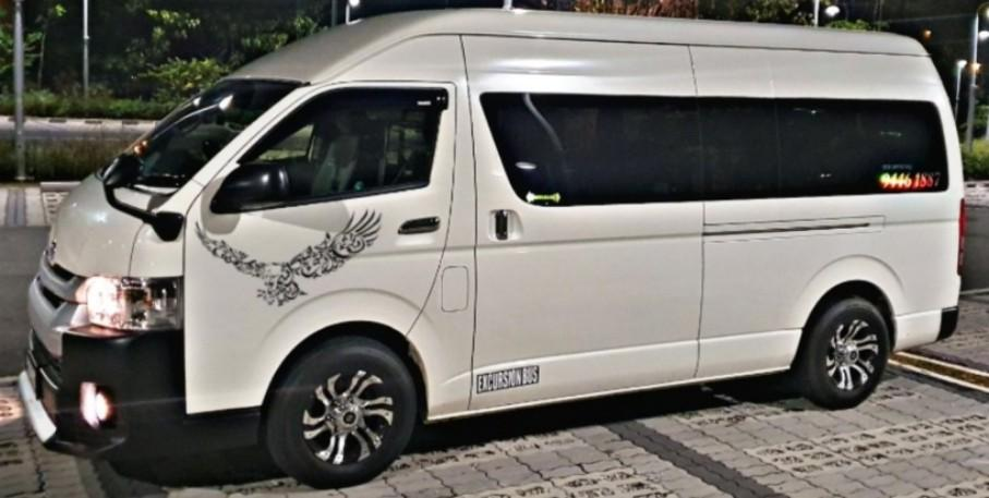 Airport Transfers / Maxicab Bookings ( 6 to 13 Seater)