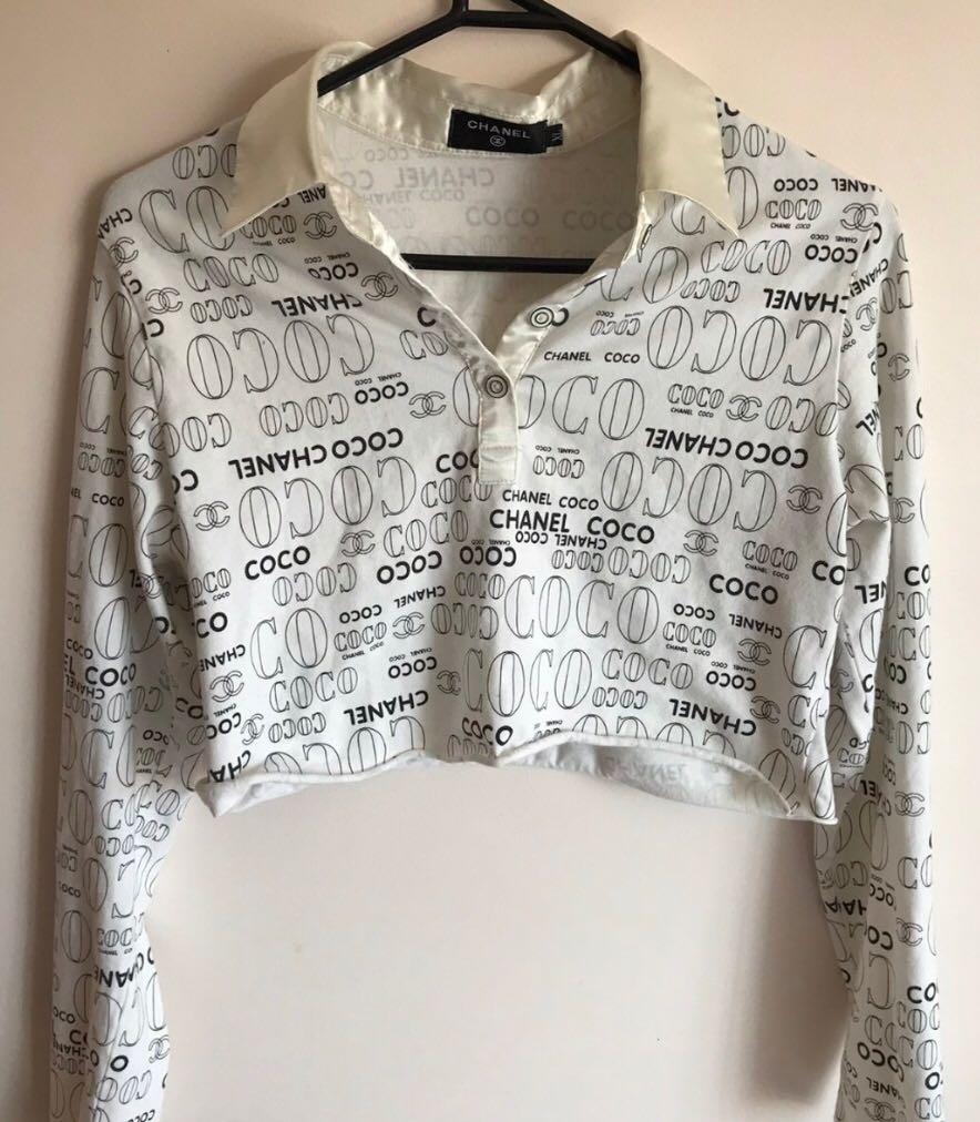 Authentic Vintage Chanel Top