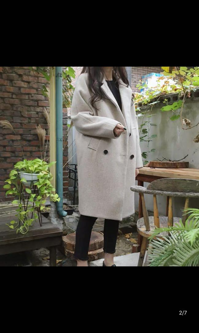 BN Autumn/Winter Trench Coat with buttons and Side Pockets