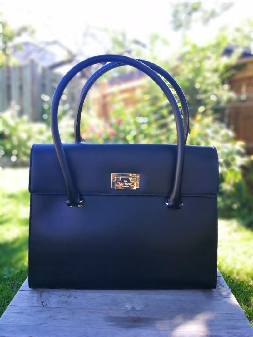 ✨Price drop ✨ BNWT Kate Spade Hardwood Place Sinclair bag in Black