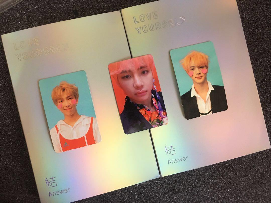BTS Love Yourself: Answer Ver L & F with Taehyung/Jin/RM PC