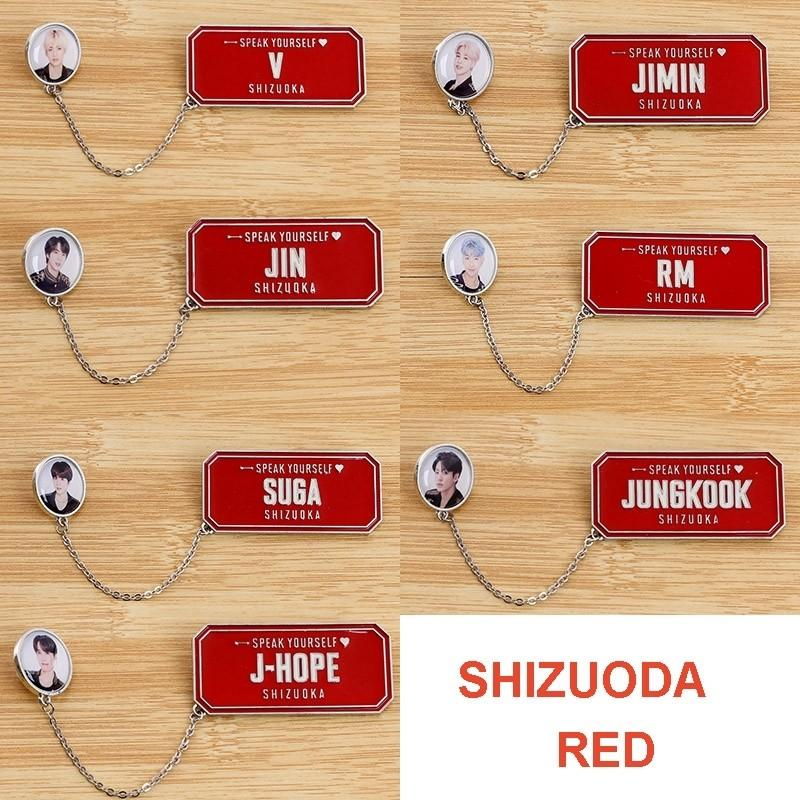 BTS Love Yourself: Speak Yourself Japan Tour Unofficial Brooch Pins