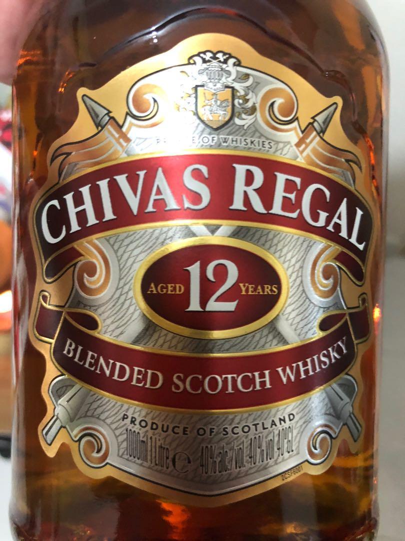 Chivas 12 Yrs - 1000ml