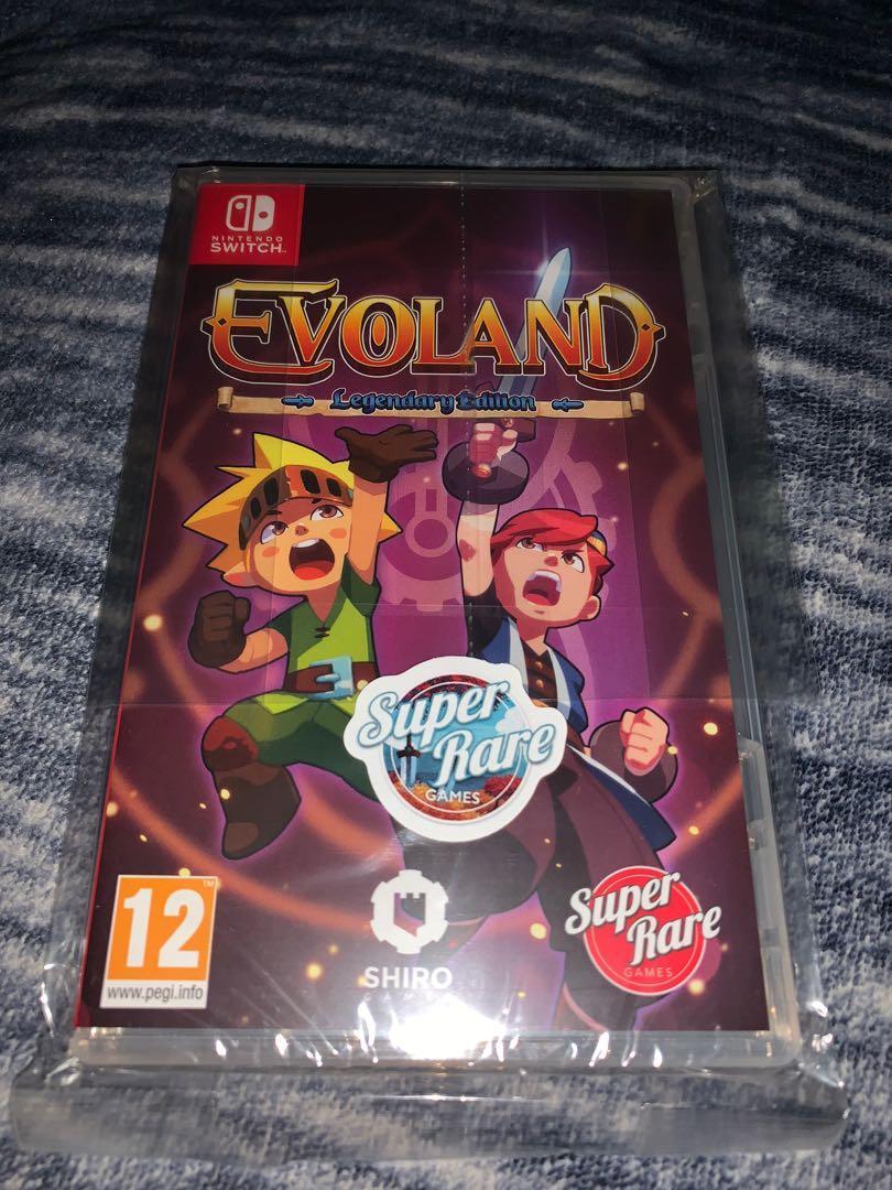 Evoland Nintendo Switch Super Rare Games