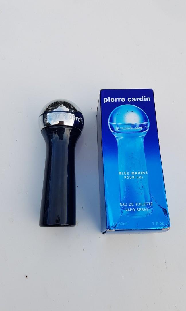 FULL Vintage Pierre Cardin Bleu Marine pour Lui 30ml EDT Cologne Discontinu Rare