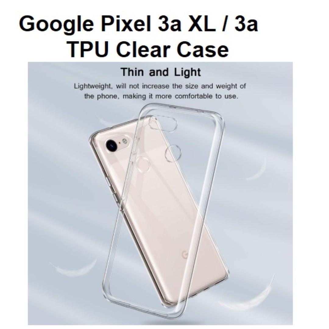 Google Pixel 3a 3a XL Mobile phone Transparent Soft TPU Case
