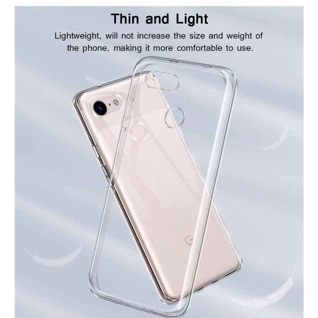 Google Pixel 3a XL / 3a TPU Slim Clear Case