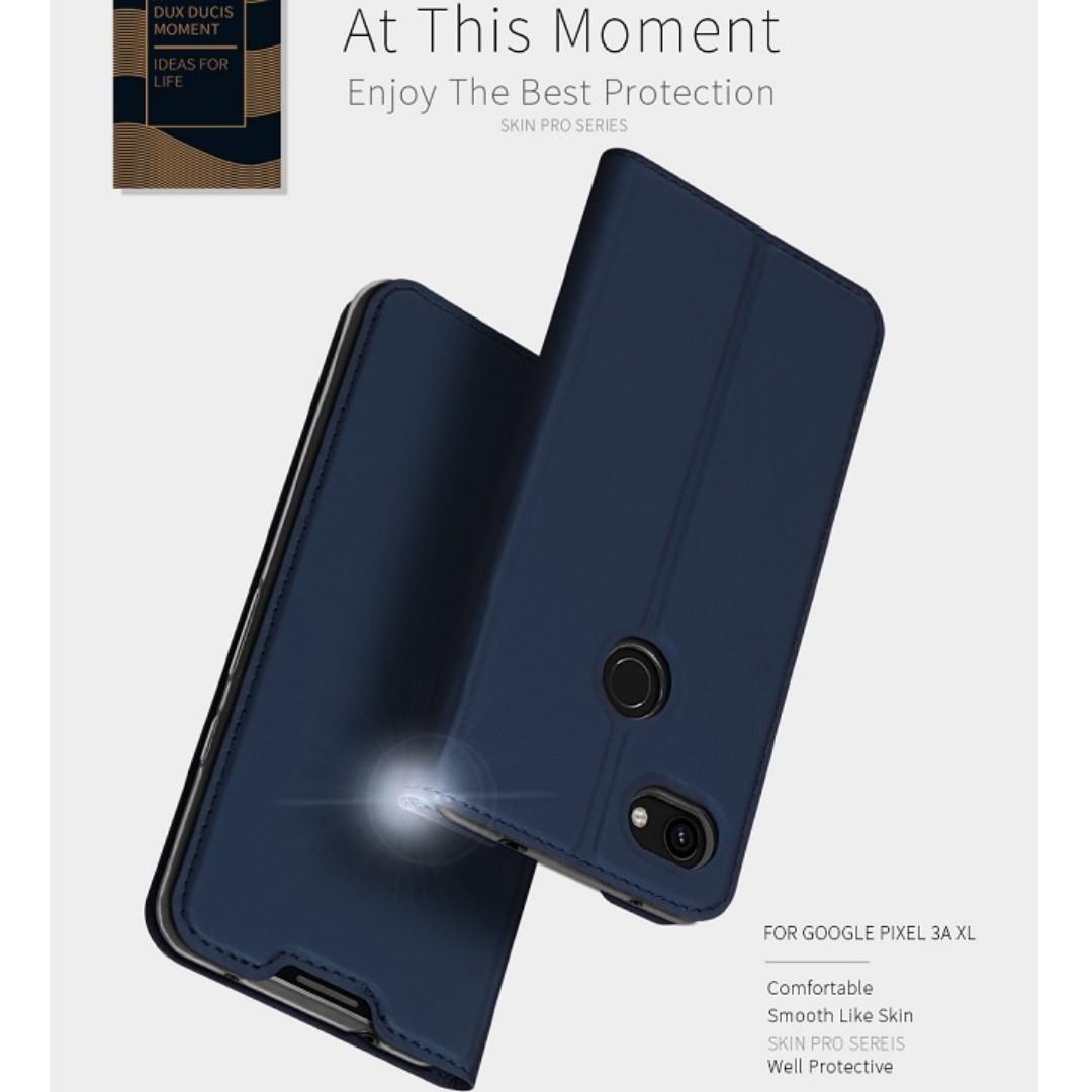 Google Pixel 3a/Pixel 3A XL Shell Wallet Flip Case