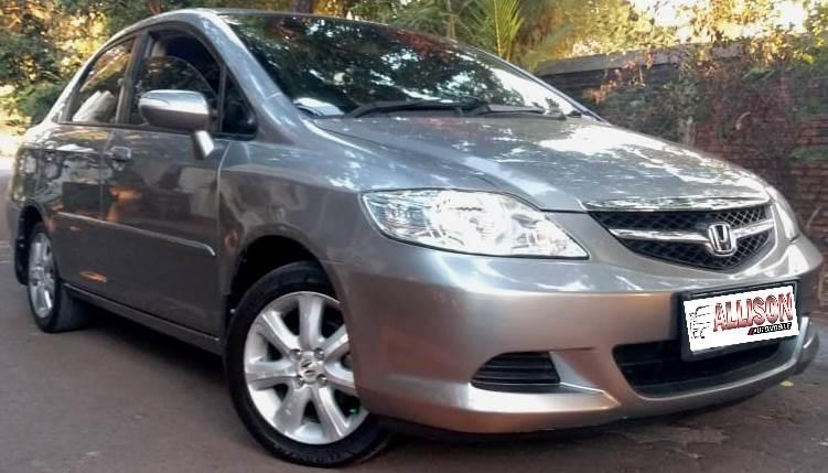 Honda City I-DSi AT 2008 Silver, No Pol Genap, Dp 19,9 Jt